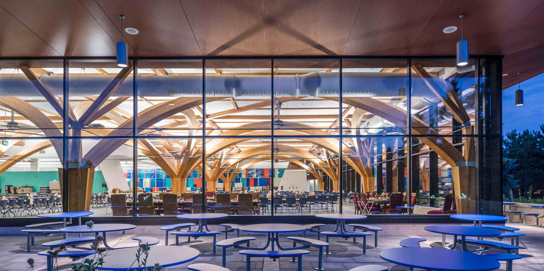fabriq architecture  u00bb curtiss dining hall  borden